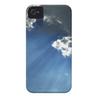 Sky Dark Glow Clouds iPhone 4 Case