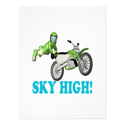 Sky High 3 Full Color Flyer