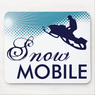 sky high snowmobile mouse pad