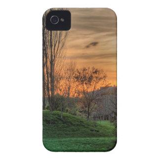 Sky Parkland Night iPhone 4 Cases