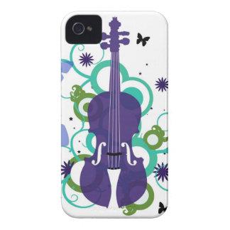 Sky Violin Design iPhone 4 Case