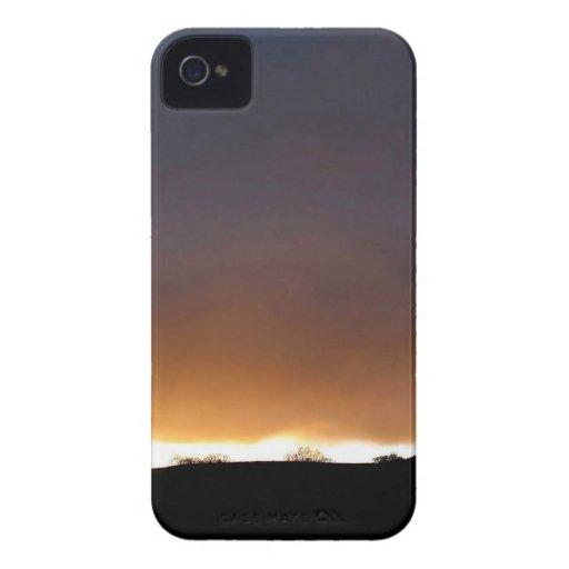 Sky White Night Case-Mate iPhone 4 Case