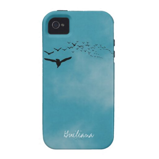Sky with Birds Case-Mate iPhone 4 Covers