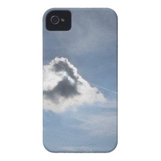 Sky with giants cumulonimbus clouds iPhone 4 case
