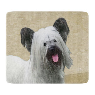 Skye Terrier Cutting Board