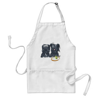 Skye Terrier Tennis Players Standard Apron