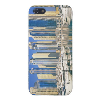Skyline and boats on Dubai Marina iPhone 5 Case