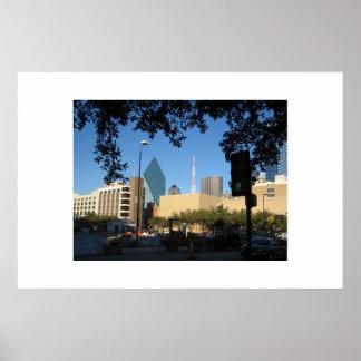 Skyline, Dallas TX Poster