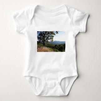 Skyline Drive Mountain View Baby Bodysuit
