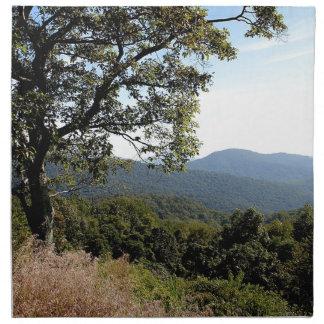 Skyline Drive Mountain View Napkin