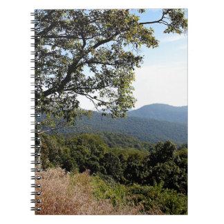Skyline Drive Mountain View Notebooks