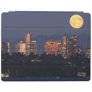 Skyline Of Bellevue From Lake Washington At Dusk iPad Cover