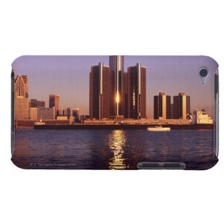Skyscrapers by the water in Detroit 2 iPod Touch Cover