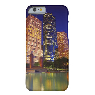 Skyscrapers in downtown Houston reflected in Barely There iPhone 6 Case