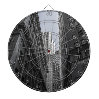 Skyscrapers New York City Centre Metropole Dartboard