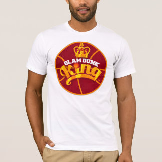 Slam Dunk King Basketball Logo T-shirt