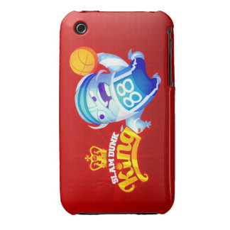 Slam Dunk King -Rupert -iPh 3g/3gs Case-Mate Horiz iPhone 3 Case