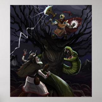 Slavic Mythology Large Poster
