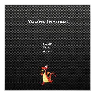 Sleek Cartoon Dragon Custom Announcements