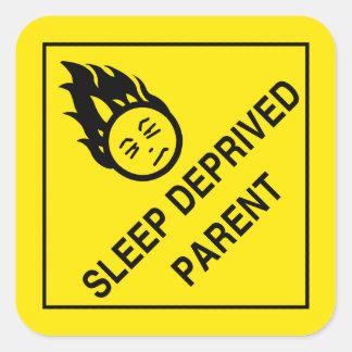 Sleep Deprived Parent Stickers