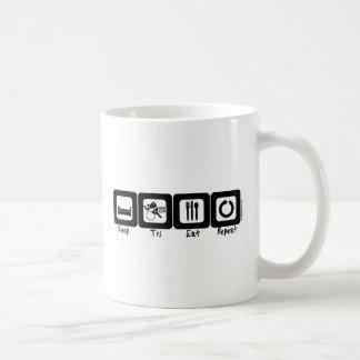 Sleep TrI Eat Repeat Coffee Mugs