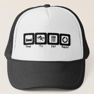 Sleep TrI Eat Repeat Trucker Hat