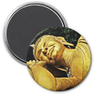 Sleeping Buddha Statue Magnets