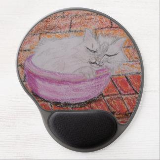 Sleeping Cat Gel Mouse Pad