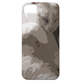Sleeping Cat iPhone 5 Cover