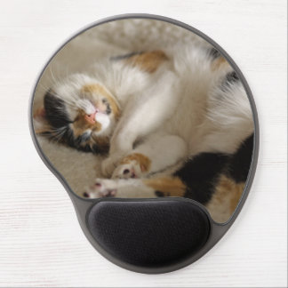 Sleeping Kitty Gel Mousepad