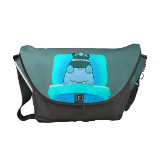 Sleeping Monster Courier Bags