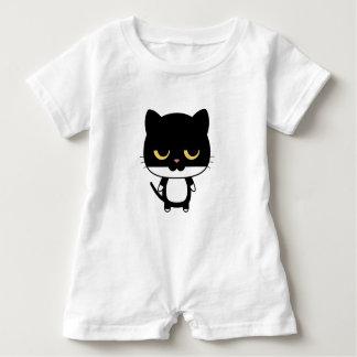 Sleepy Cat Romper Baby Bodysuit