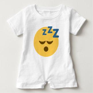 Sleepy Emoji Baby Bodysuit