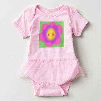 Sleepy Flower Baby Bodysuit