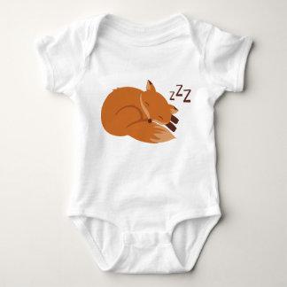 Sleepy Fox Baby Bodysuit