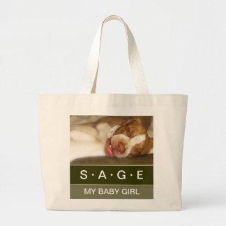 Sleepy Girl Large Tote Bag