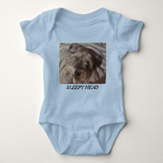 Sleepy Head Baby Bodysuit