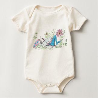 sleepy little gnome baby bodysuit