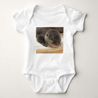 Sleepy Otter Baby Bodysuit
