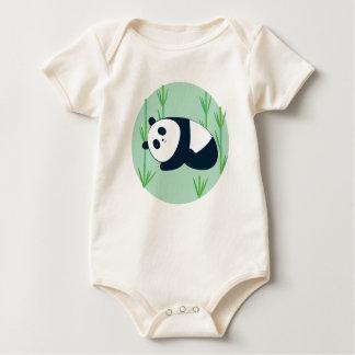 Sleepy Panda! Baby Bodysuit