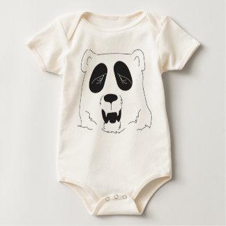 Sleepy Panda Whimsy FolkTale One-Piece Garment Baby Bodysuit