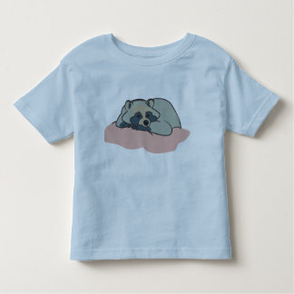 Sleepy Racoon Toddler T-Shirt