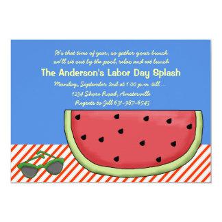 Slice of Watermelon Party Invitation