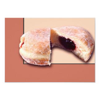 Sliced Donut 5x7 Paper Invitation Card