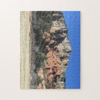 slide rock, sedona arizona jigsaw puzzles