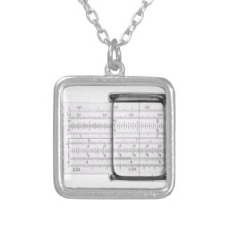 Slide Rule Necklace