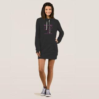 Slim fit hoodie dress....or a very long hoodie