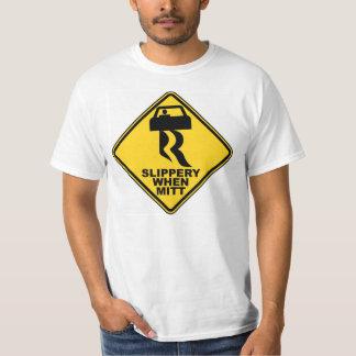 Slippery when Mitt  Tshirt