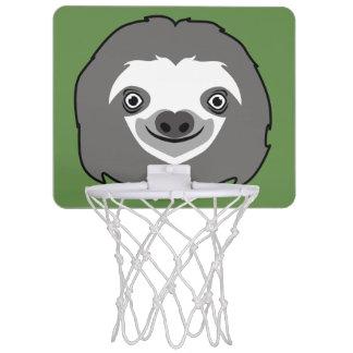 Sloth Face Mini Basketball Hoop