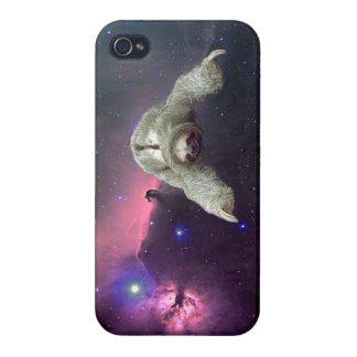 Sloth in Space iPhone 4 Case